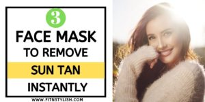 3 Quick Face Packs To Remove Tanning During Summers
