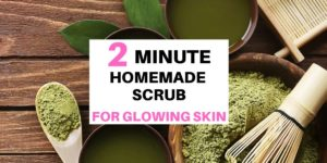 Easy 2 Minute Homemade Scrub For Glowing Skin