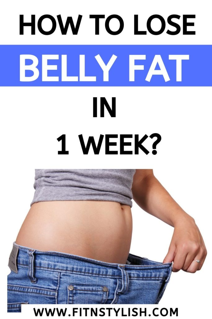 How to lose belly fat in 1 week: here are 3 ways in which you can remove belly fat in 1 week. belly fat can be removed if you follow these tips. click to read