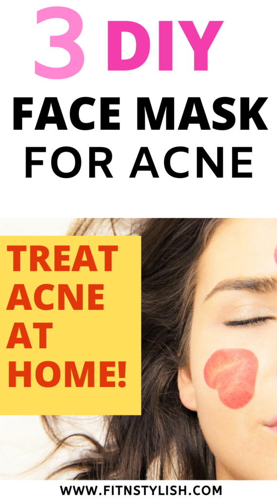 homemade face mask for acne: diy face mask for acne