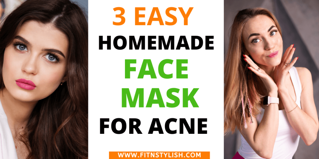 homemade facemask for acne, diy face mask for acne treatment. Try this face mask and clear acne at home