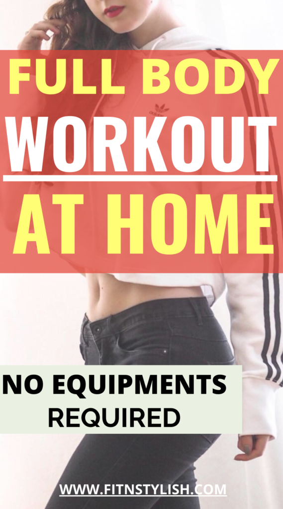 Full Body Workout at Home No Equipments: Full Body Toning