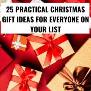 25 Practical Christmas Gift Ideas For Everyone on Your List