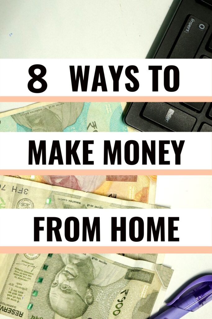make money online working from home