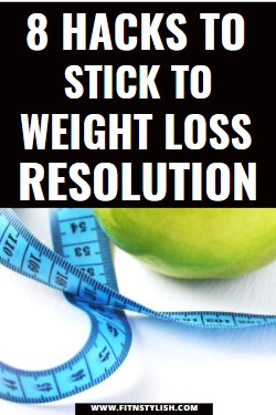 how to stick to your weight loss goals