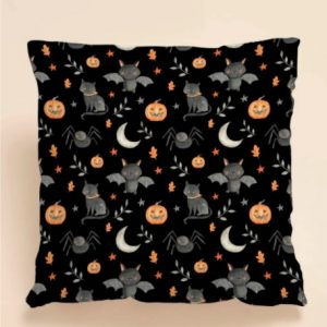 Halloween Cartoon Graphic Cushion Cover Without Filler 2