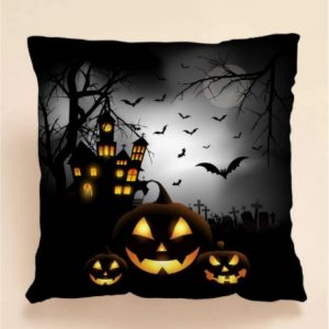 Halloween Print Cushion Cover Without Filler 3